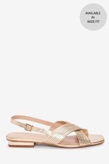 Signature Slingback Sandals
