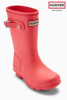 Hunter Original Pink Matte Wellington Boot