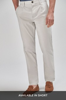 Pleat Front Chinos