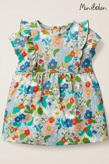 Boden Cream Printed Jersey Dress