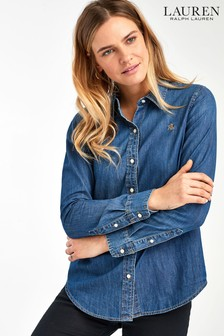 Lauren Ralph Lauren® Indigo Denim Jamelko Shirt