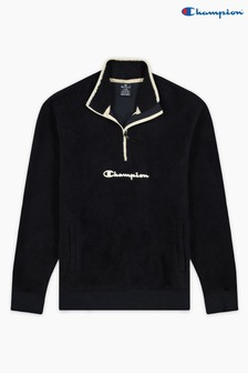 Champion Blue Half Zip Top