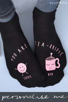 Personalised You Are Teariffic Socks by Solesmith