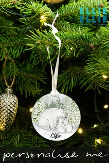 Personalised Woodland Decoration by Ellie Ellie