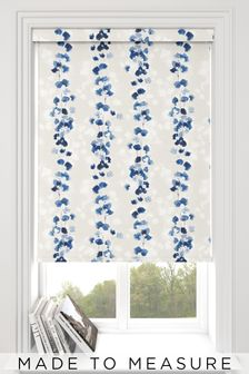 Tatton Ink Blue Made To Measure Roller Blind