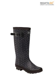 Regatta Black Lady Fairweather II Wellies