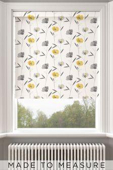 Izzy Buttercup Yellow Made To Measure Roller Blind
