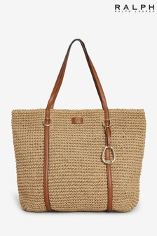 Ralph Lauren Crochet Straw Summer Bag