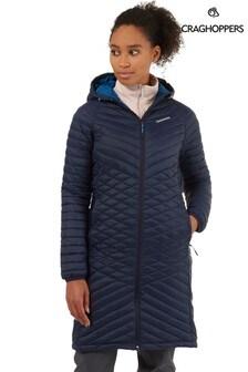 Craghoppers Blue Expolite Long Jacket
