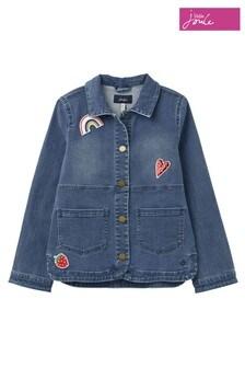 Joules Blue Imogen Denim Jacket