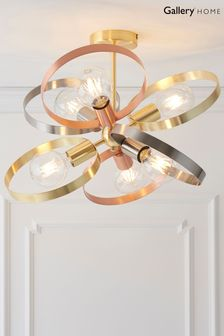 Circle Flush Ceiling Light by Gallery Direct