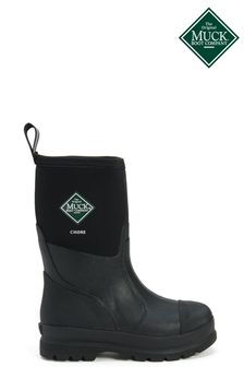 Muck Boots Chore Classic Mid Patterned Wellington Boots
