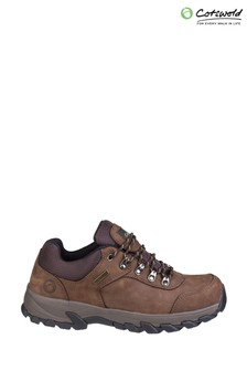 Cotswold Brown Hawling Lace-Up Shoes