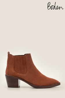 Boden Brown Burwell Ankle Boots