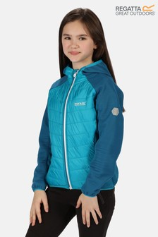 Regatta Blue Kielder Hybrid Iv Full Zip Baffle Jacket