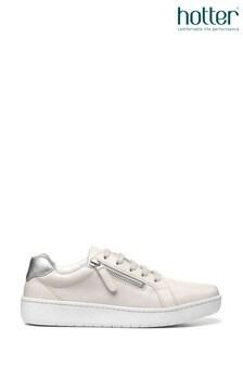Hotter Catch Lace Up/Zip Deck Shoes