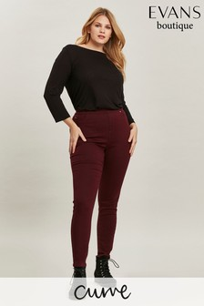 Evans Curve Berry Jeggings