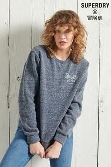 Superdry Crafted Workwear Crew Sweatshirt