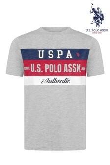 U.S. Polo Assn. Triple Stripe Graphic T-Shirt