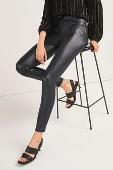 Faux Leather PU Leggings