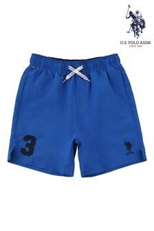 U.S. Polo Assn Blue Player 3 Swim Shorts