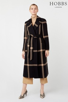 Hobbs Black Florina Coat