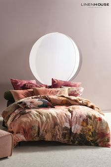 Floriane Large Floral Duvet Cover and Pillowcase Set by Linen House