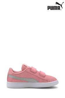 Puma® Junior Smash V2 Glitz Glam Trainers