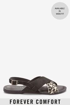 Forever Comfort® Cross Front Slingbacks