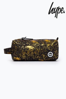 Hype. Gold Splatter Pencil Case