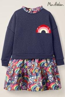Boden Blue Colour-Change Sequin Dress