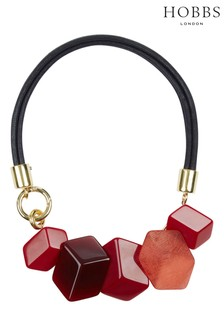 Hobbs Red Hazel Necklace