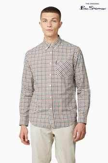Ben Sherman Gold Metal Multicolour Oxford Check Shirt