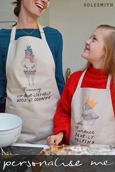 Personalised Mum & Me Apron Set by Solesmith
