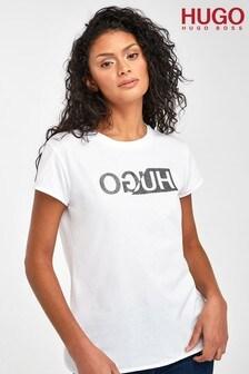 HUGO Dijala Reverse Logo T-Shirt
