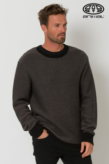 Animal Black Herston Knitted Jumper