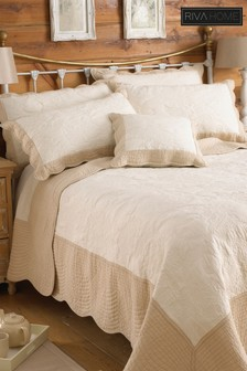 Fayence Quilted Bedspread by Riva Home