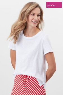 Joules Carley Solid Classic Crew T-Shirt