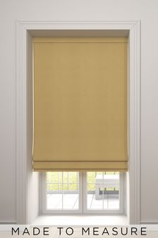 Imogen Sunflower Gold Made To Measure Roman Blind