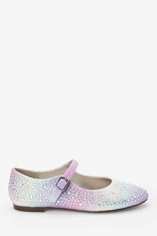 Mary-Jane-Schuh mit Zierdetails (Ältere)