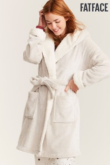 FatFace Natural Soft Contrast Robe