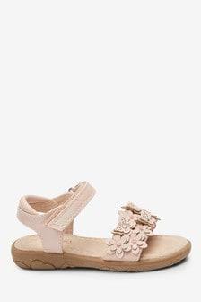 3D Flower Sandals (Younger)