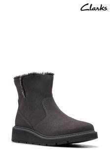 Clarks Grey Ivery Ridge Boots