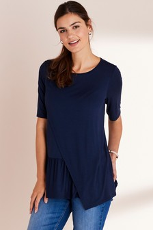 Maternity Nursing Ruffle T-Shirt