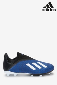 adidas Navy P3 X Lacless FG Junior & Youth Football Boots