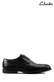 Clarks Black Ronnie Limit Shoes