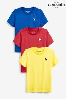 Набор из трех футболок Abercrombie & Fitch