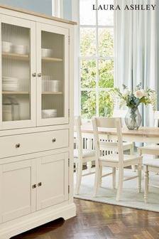 Dorset White 4 Door 1 Drawer Storage Unit by Laura Ashley