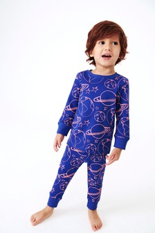 Space Printed Pyjamas (9mths-12yrs)