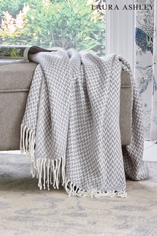 Laura Ashley Steel Arya Throw